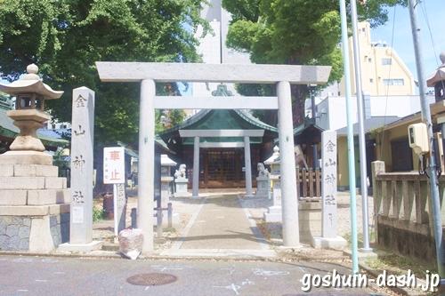 金山神社(名古屋市熱田区)鳥居