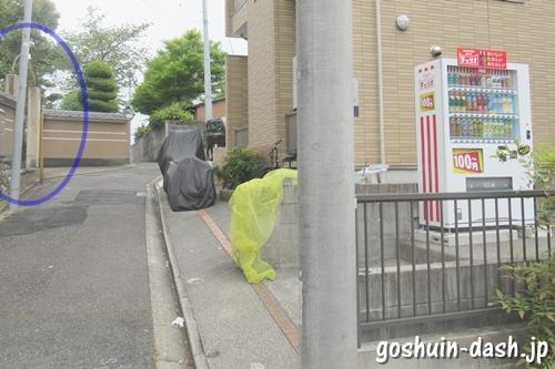 増益山大喜寺(名古屋市瑞穂区)近くの自動販売機