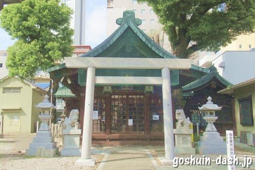 金山神社(名古屋市熱田区)社殿