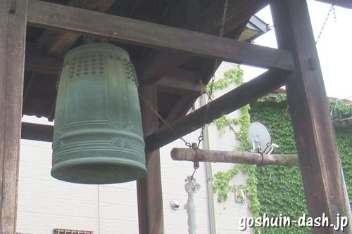 頭護山如意寺(名古屋市緑区)鐘楼