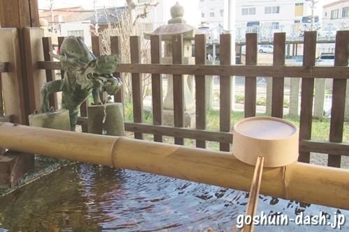 住吉社(名古屋市熱田区)手水舎