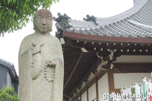 大仙山西福寺(愛知県刈谷市)鯖大師像