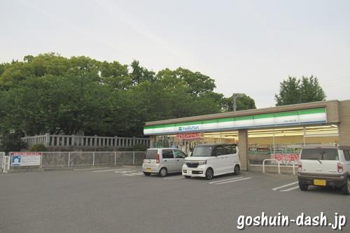 ファミリーマート刈谷小垣江店(小垣江神明神社隣接)