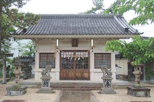 金刀比羅社(愛知県刈谷市)拝殿