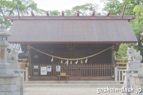 小垣江神明神社(愛知県刈谷市)拝殿