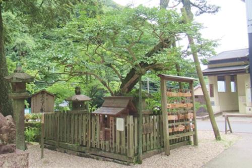 内々神社(愛知県春日井市)すべらずの松・すべらず天神社