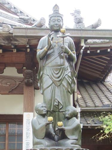 総持寺(愛知県知立市)白寿観音