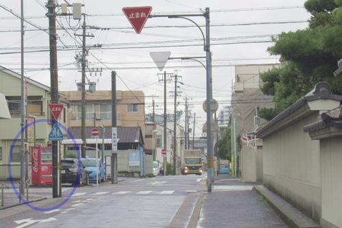 久国寺(名古屋市北区)近くの自動販売機
