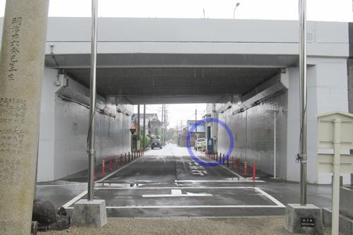 岩塚七所社(名古屋市中村区)近くの自動販売機