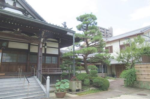松秀寺(愛知県刈谷市)本堂・庫裏