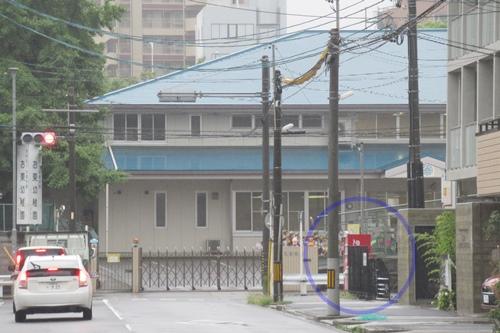 長栄寺(名古屋市中区)近くの自動販売機